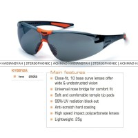 Kacamata KING'S - Type 8814 (Safety Eyewear Buat Gowes, Airsoft, Motor, Mobil'an, Hiking, Work indoor-outdoor, Etc)