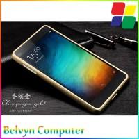 harga Aluminium Bumper Case with Arcylic Back for Xiaomi Mi4i / Mi4c - Gold Tokopedia.com