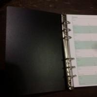 Buku Telepon Address Book Binder 6 lubang