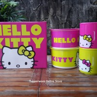 Tupperware Hello Kitty Snack Time