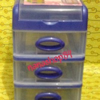 Mini Container / Laci Kecil Merk Shinpo (Susun 3)