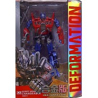 TRANSFORMERS DEFORMATION OPTIMUS PRIME ACTION FIGURE 18 CM