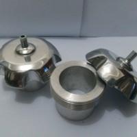 "Tutup Tangki jenis ulir untuk motor KLX dan Suzuki TS ""Alumunium"