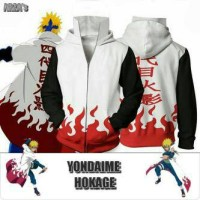 Naruto - Jaket/ Jacket Yondaime Hokage Naruto Konoha Anime