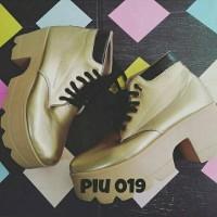 harga Sepatu Boot Cewek Murah/Sepatu Boot Cewek Lucu/PIU019 Tokopedia.com