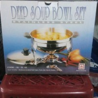 Deep Soup Bowl / Pemanas Sop 28cm Maspion