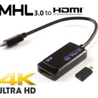 MHL 3.0 Micro USB To HDMI For Sony Xperia Z2 / Z3 Galaxy Note 4 / EDGE