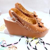 harga Sendal sepatu wedges wanita(sandal sepatu cewek) Tokopedia.com