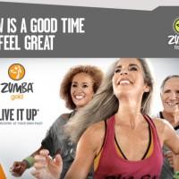 DVD Senam Zumba Gold - Live It Up