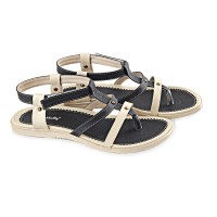[PROMO] Sandal Wanita Black Kelly Model Terbaru LFS 422