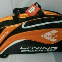 harga Tas Raket Badminton Ransel Lining ABDJ 206 (100%Original) Tokopedia.com