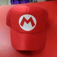 harga topi mario Tokopedia.com