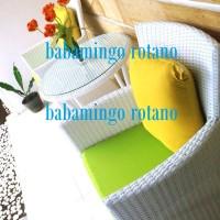 harga Set Kursi Terrace/cafe Rotan Sintetis White Lime Green - Bogorcibinong Tokopedia.com