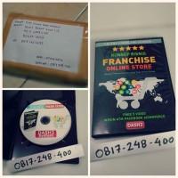 DVD Panduan Bisnis Online cara punya toko Online Otomatis Internationa