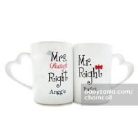 harga Char & Coll Personalization Coffee Mug - Couple (2 pieces) Tokopedia.com