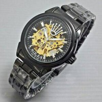 Jam Tangan Automatic Rolex Full Black