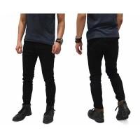 Celana Jeans Skinny Hitam Polos / Celana Jeans Slim Hitam Polos Cowo