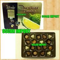 ALFREDO DURIAN CHOCOLATE WITH REAL DURIAN FRUITS 200GR KEMASAN KALENG