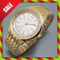 DKNY Fashion Diamond Bulat GOLD | Jam Wanita Kado Fossil Gucci Guess