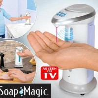 Jual DISPENSER SABUN CAIR OTOMATIS MAGIC SOAP DISPENSER AS SEEN ON TV Murah