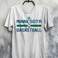 harga Baju Kaos Basket Nba Minnesota Timberwolves Basketball Murah Tokopedia.com
