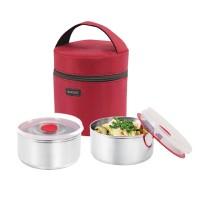 Rocket Rantang Lunch Box - Kotak Makan -12 cm - Merah