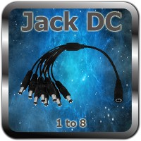 1 to 8 Jack DC Cable