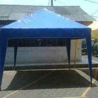 harga Tenda Cafe Ukuran 4x4  / Tenda Piramid / Kerucut Bahan Terpoulin Tokopedia.com