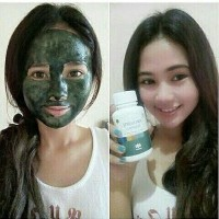Masker Lumpur Spirulina Tiens Paket 50kapsul Murah