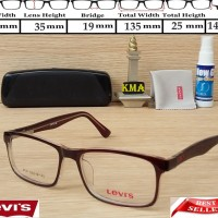 List Harga Frame Kacamata Minus Levis Terbaru Januari 2019