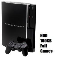 ps3 fat port 2 usb HDD 160GB Full game baru