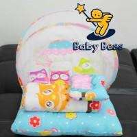 Jual kasur bayi  lipat kelambu bess / selimut bayi /playmate Murah