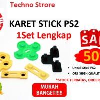 KARET Stik / Stick PS2 1Set Lengkap ORIGINAL MESIN PALING MURAH