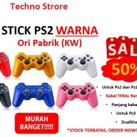 harga Stik/stick Sony Playstation 2 Ori Pabrik (kw) Warna+paling Murah+ Ps 2 Tokopedia.com