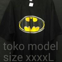 kaos big size ( ukuran besar ) size 4xl / xxxxl motif batman murah
