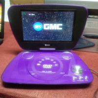DVD Player + TV Portable GMC 808U