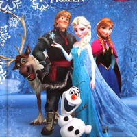 BUKU CERITA ANAK - MY BUSY BOOK FROZEN - PLAYMAT + DISNEY FIGURINE