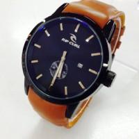 harga jam tangan ripcul detroit leather brown white Tokopedia.com