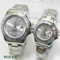 ROLEX SEPASANG SILVER COVER SILVER