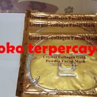 Gold Bio Collagen Facial Mask - Crystal Collagen Gold, Masker Wajah