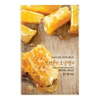 Nature Republic Real Nature Mask Sheet - Royal Jelly - Wrinkle Care
