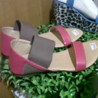 Sandal Flat Poppy   Sepatu Wanita   Sepatu Murah   Sandal Wanita