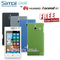 Hardcase for HUAWEI Ascend W1 : SIMAI Quicksand ( + FREE SP)