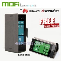 Flipcover HUAWEI Ascend W1 : MOFI Stand Function (+FREE SP)