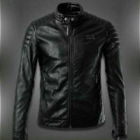 motor stail jacket sintetis/semi kulit