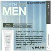 Sabun Cuci Muka North For Men Active Fairness Face Wash