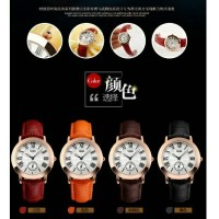 SKMEI Casual Ladies Leather Strap Watch Water Resistant 30 M - 1083CL