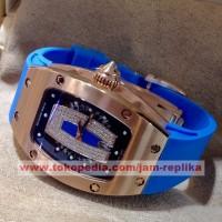 Jam Tangan Mewah Richard Mille Syahrini Blue Premium Grade A