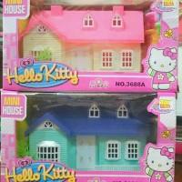 Mainan mini house hello kitty (villa)