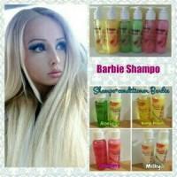shampo barbie pemanjang rambut